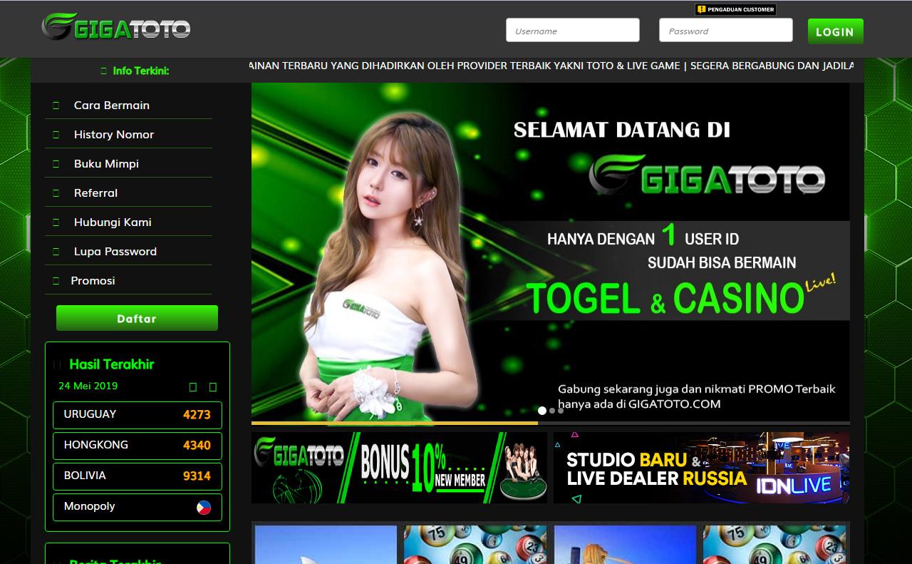 GigaToto Menuduh Player Mengedit Hasil Transaksi Invoice